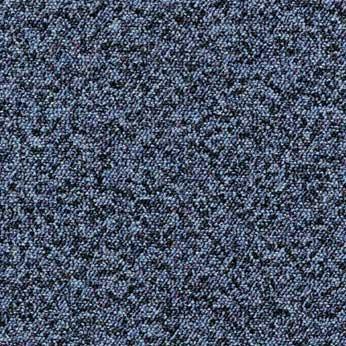 noktalı mavi desenli karo halı