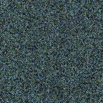 okyanus mavisi noktalı karo halı - forbo flooring