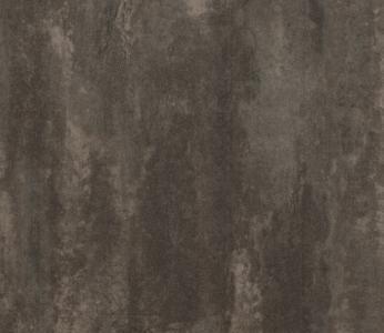 koyu yıpranmış paslı metal desenli karo pvc lvt zemin kaplaması