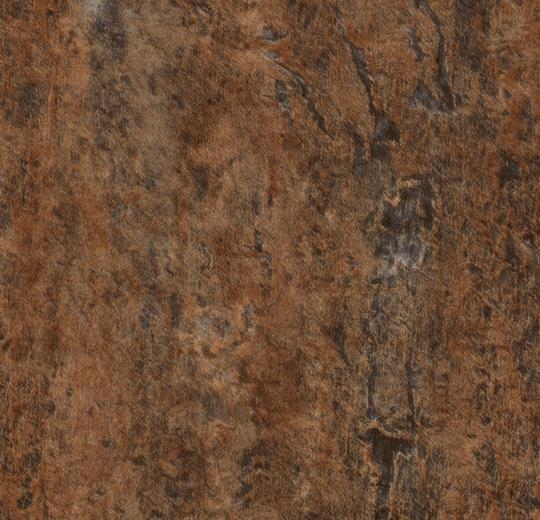 Meteor taşı görünümlü kahverengi karo pvc lvt zemin döşeme