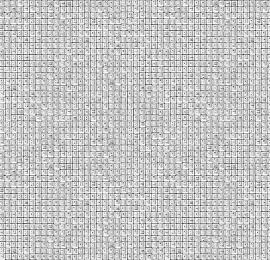 klavye desenli leke tutmayan halı - otel halısı