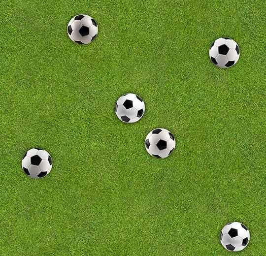 futbol sahası desenli leke tutmayan halı - otel halısı