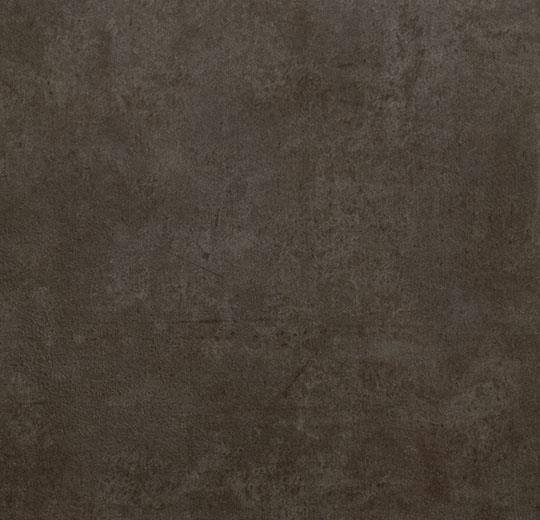 koyu kahverengi koyu gri taş beton görünümlü karo pvc zemin kaplama