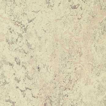 Kırcıllı beyaz desenli linolyum doğal zemin kaplama