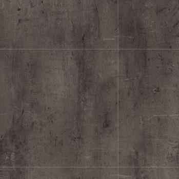 Koyu gri metal desenli beton görünümlü karo pvc