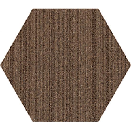 kahverengi altıgen ofis halısı