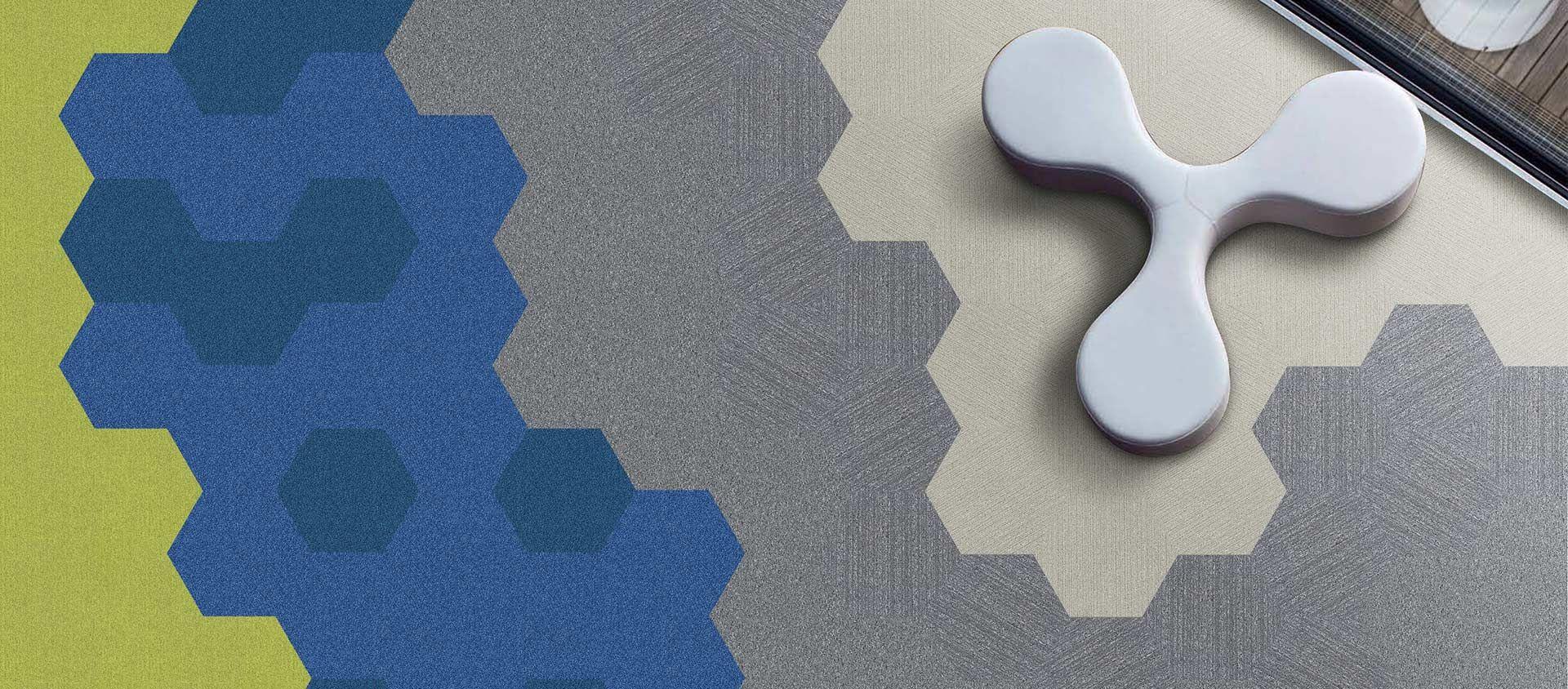 Voxflor Crystal karo halı uygulama görseli 4