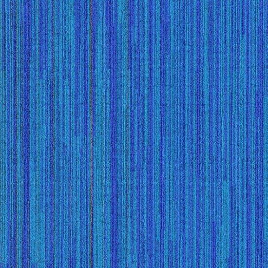 neon mavi karo halı