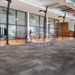 ak inşaat ofis tessera karo halı uygulaması 3