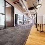 ak inşaat ofis tessera karo halı uygulaması 4