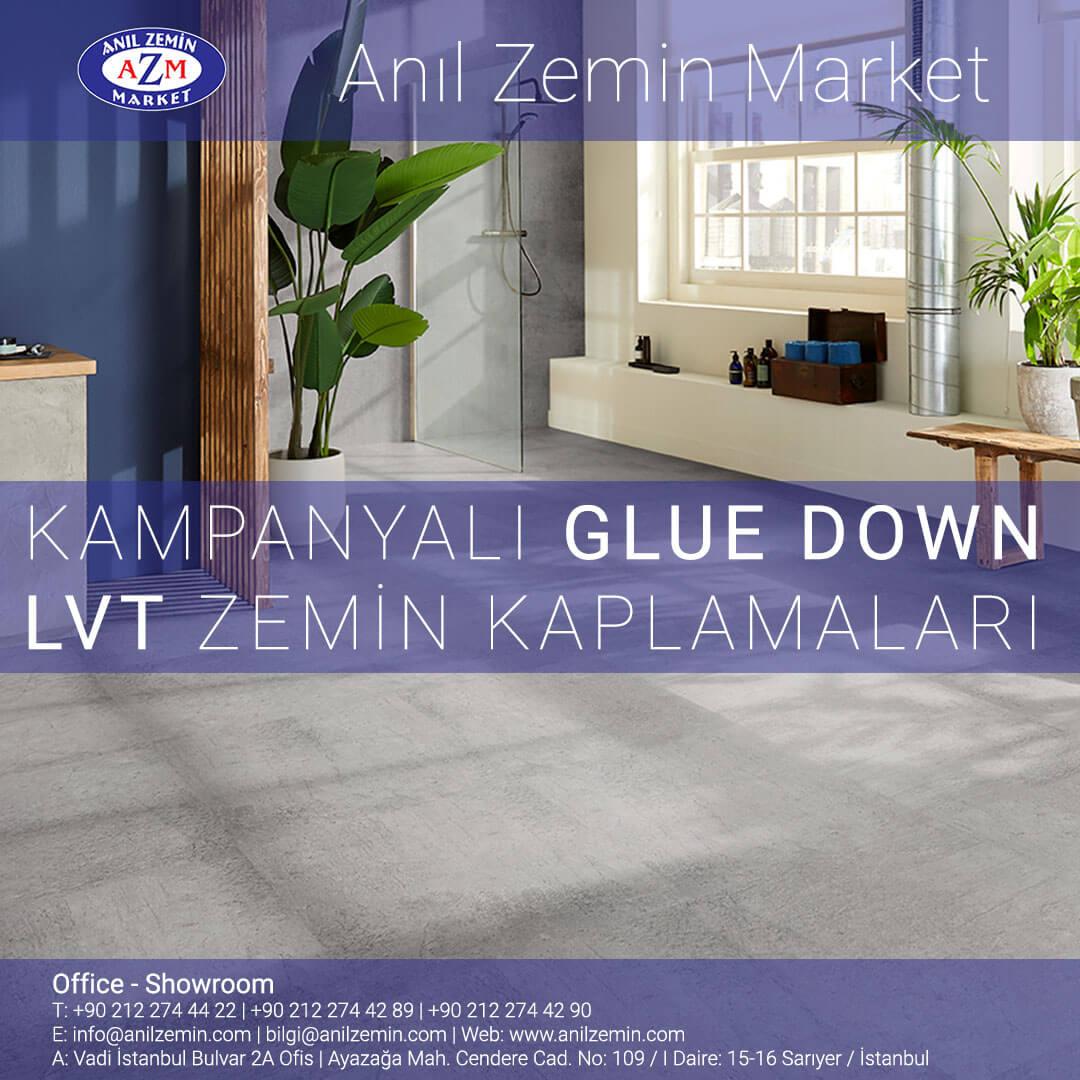 Kampanyalı Glue Down (Yapıştırma) LVT Zemin Kaplamaları