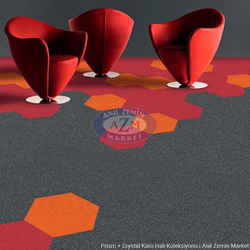 Voxflor prism crystal karo halı uygulama görseli 3