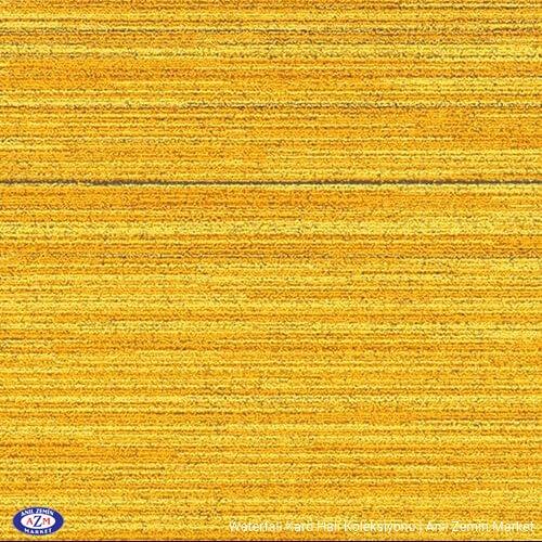 Sarı karo halı