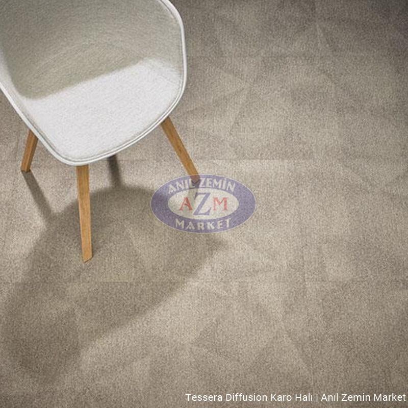 Tessera diffusion karo halı uygulama görseli - 2006