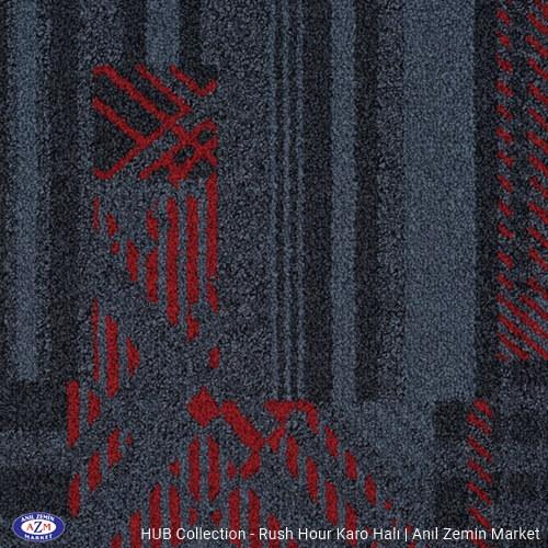 kırmızı siyah kültürel motif desenli karo halı - ofis halısı - ucuz karo halı - ucuz halı - ateco halı - petra halı - interface halı - plaza halısı - okul halısı - ithal halı - büro halı - karo halı istanbul - çin karo halı - karo halı ankara