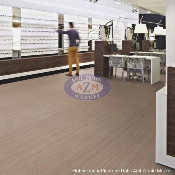 flotex linear pinstripe rulo ve karo halı uygulama görseli - s262006