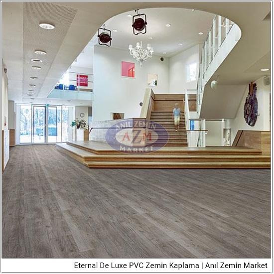 Eternal de luxe PVC zemin kaplama uygulama görseli 2867-3047 anthracite oak