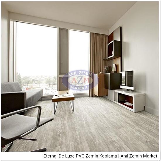 Eternal de luxe PVC zemin kaplama uygulama görseli 2894-3024 grey pine