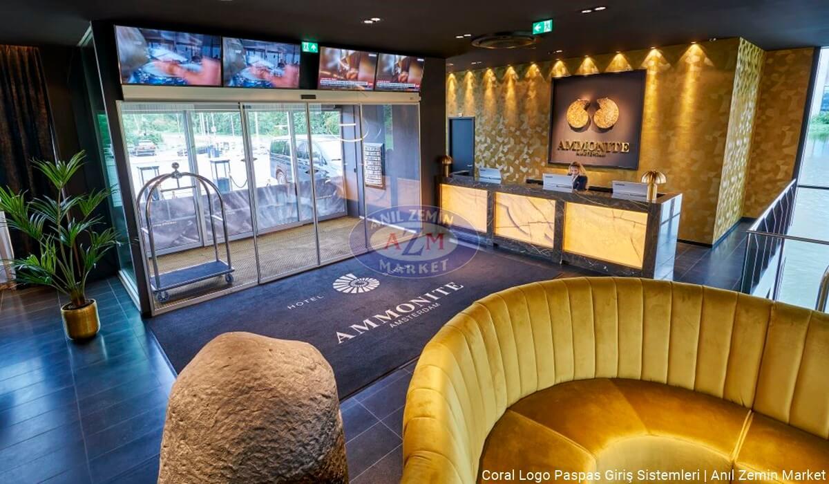 Ammonite Hotel Coral Logolu paspas