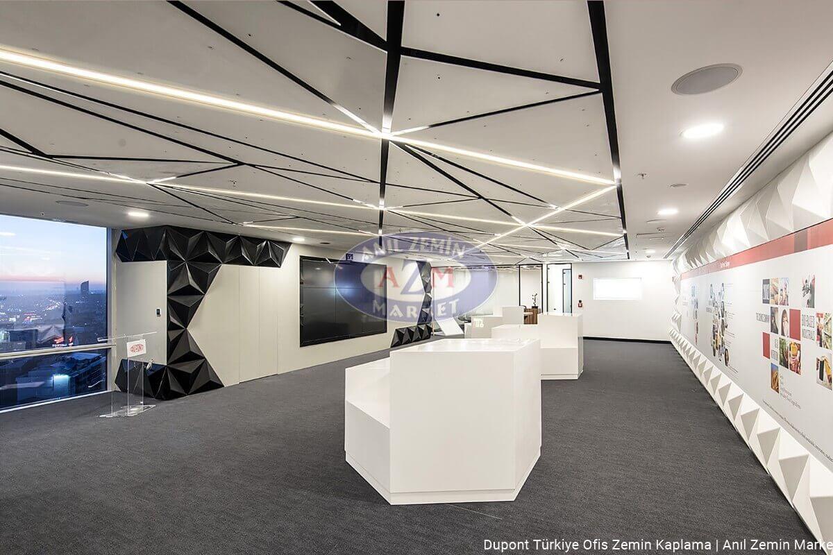 Dupont Türkiye Ofis Flotex Colour Penang t382001 anthracite karo halı Zemin Kaplama 04