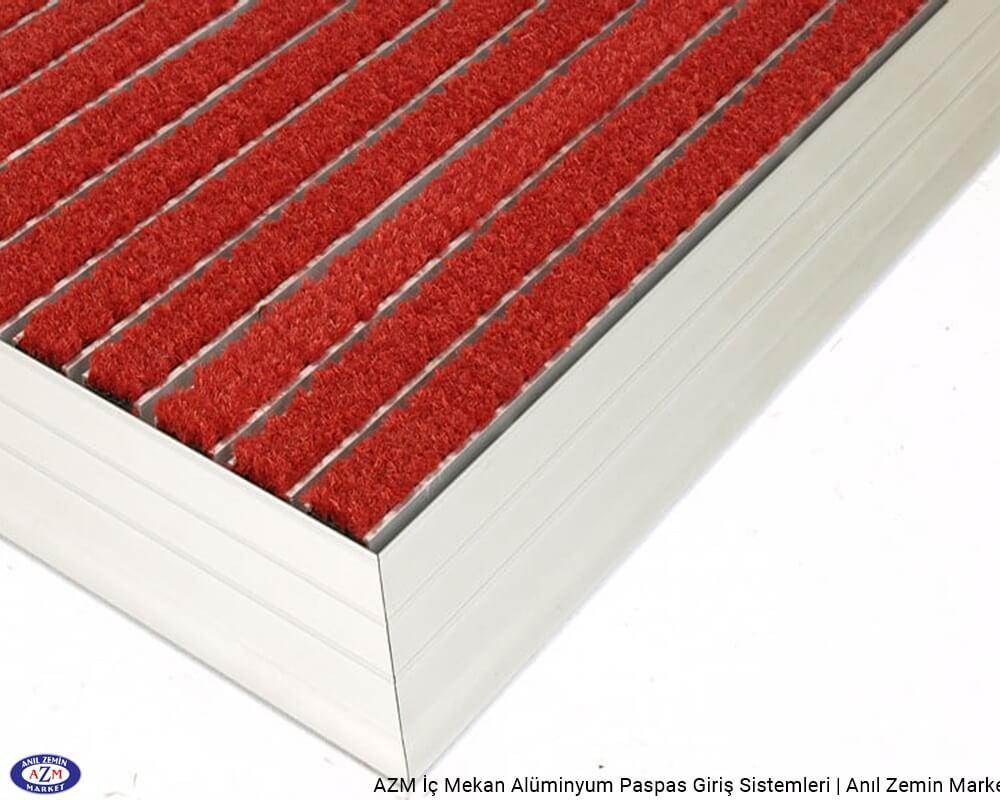 AZM Pearl 75.0220 Alüminyum Gövdeli Coral-Rinos Velur Halılı Paspas - standart ölçü