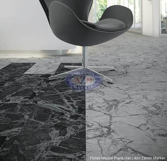 flotex marble plank karo halı uygulama1