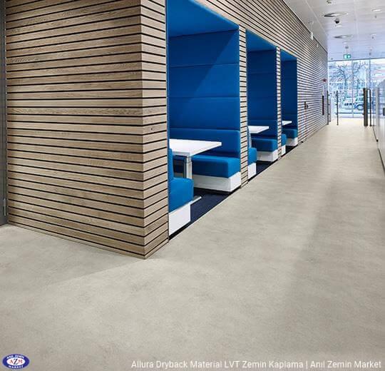 Allura Dryback Material Beton desenli LVT zemin kaplama 63426DR7-63426DR5 light cement (50x50cm)1
