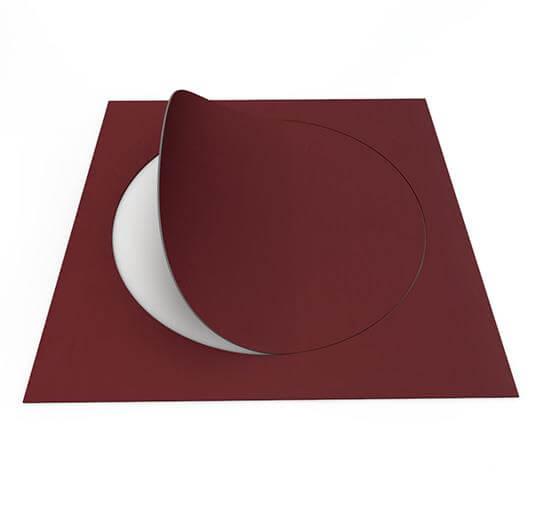 63576DR7 burgundy circle