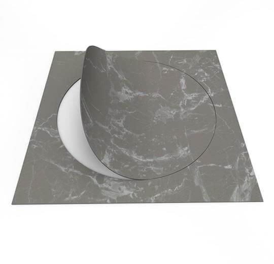63552DR7 grey marble circle