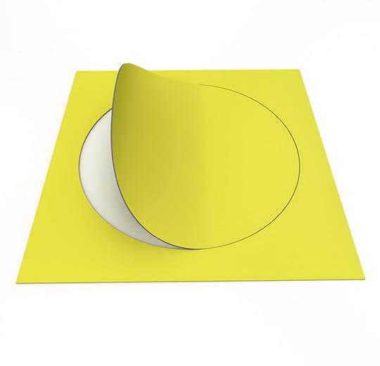 63584DR7 mustard circle