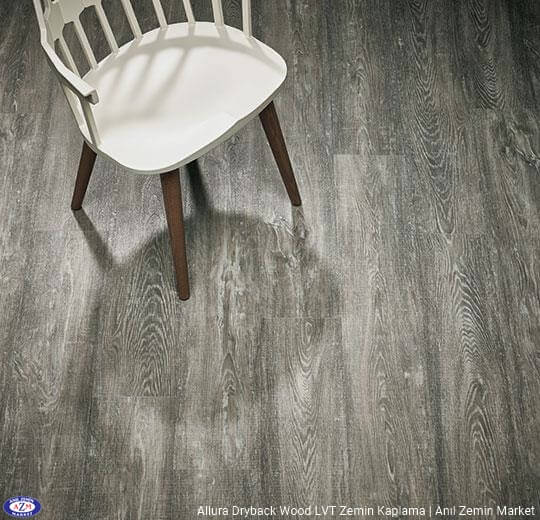 Allura Dryback Wood Ahşap desenli LVT zemin kaplama 60152DR7-60152DR5 grey raw timber1