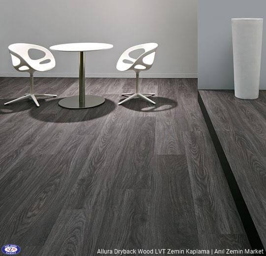 Allura Dryback Wood Ahşap desenli LVT zemin kaplama 60185DR7-60185DR5 anthracite weathered oak2