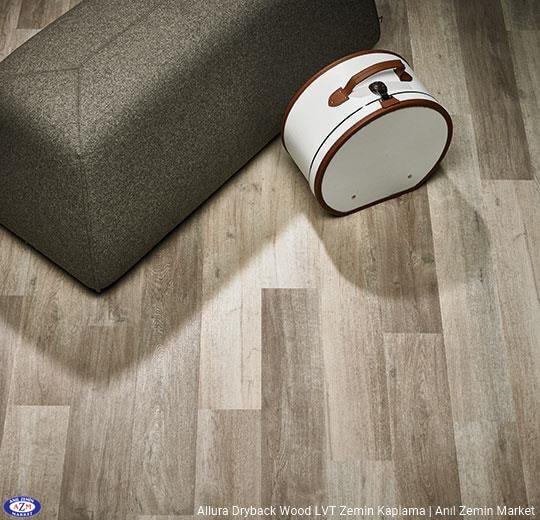 Allura Dryback Wood Ahşap desenli LVT zemin kaplama 60350DR7-60350DR5 white autumn oak
