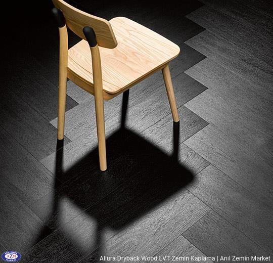 Allura Dryback Wood Ahşap desenli LVT zemin kaplama 60387DR7-60387DR5 charcoal solid oak1