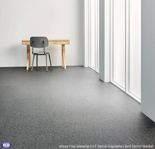 Allura Flex Material metal desenli esnek vinil pvc LVT zemin kaplama 63625FL1-63625FL5 nickel metal brush1