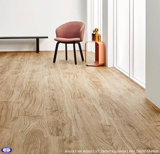 Allura Flex Wood meşe ahşap desenli esnek vinil LVT zemin kaplama 60300FL1-60300FL5 central oak1