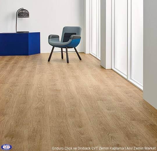 Enduro dryback meşe desenli pvc vinil LVP-LVT zemin kaplama 69101DR3-69101CL3 pure oak2
