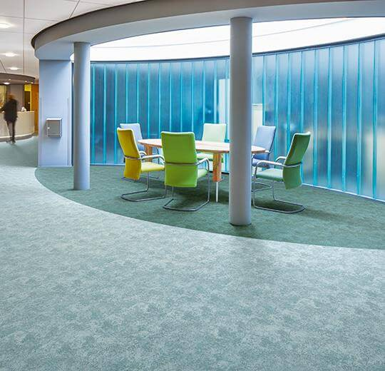 Flotex colour calgary rulo halı s290021 aqua uygulama