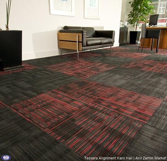Tessera alignment polyamid 50x50 Karo Halı - ofis halısı 4