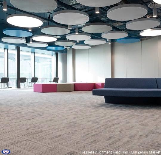 Tessera alignment polyamid 50x50 Karo Halı - ofis halısı 5