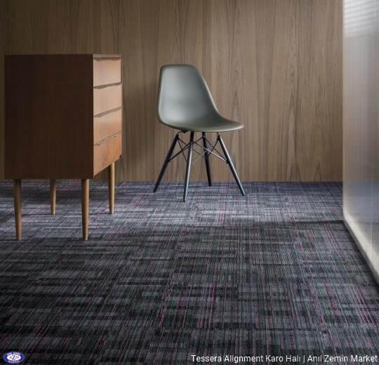 Tessera alignment polyamid 50x50 Karo Halı - ofis halısı 7
