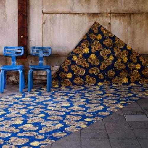 Flotex Van Gogh rulo halı uygulama görseli - 940 Sunflowers