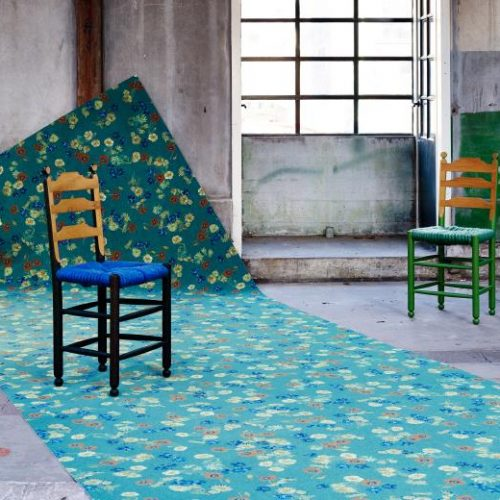 Flotex Van Gogh rulo halı uygulama görseli - 943 Postman
