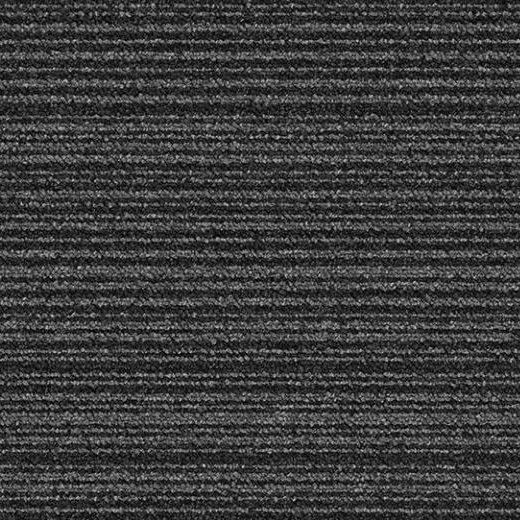 siyah çizgili karo ofis halısı