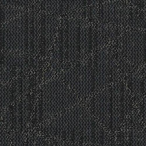 ağ desenli siyah ofis halısı