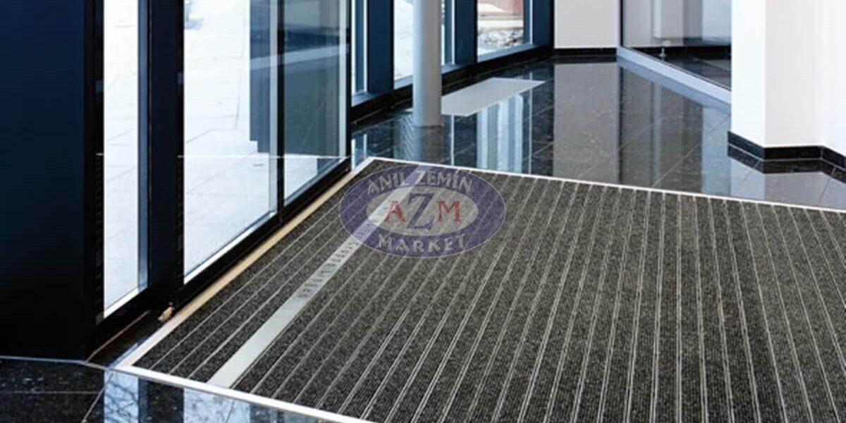 AZM Fine Pearl Alüminyum Paspas Havuz içi paspas1