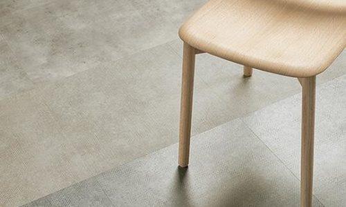 Allura Decibel beton desenli yapıştırma pvc vinil LVT zemin kaplama 8IM03-3IM03 mortar imprint concrete1
