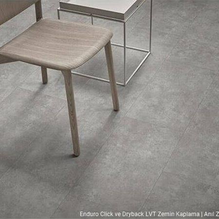 Enduro click beton desenli pvc vinil LVP-LVT zemin kaplama 69203DR3-69203CL3 light concrete