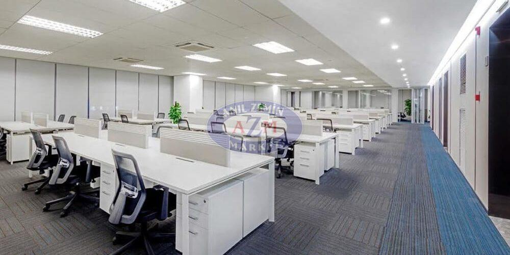 açık ofis karo halı
