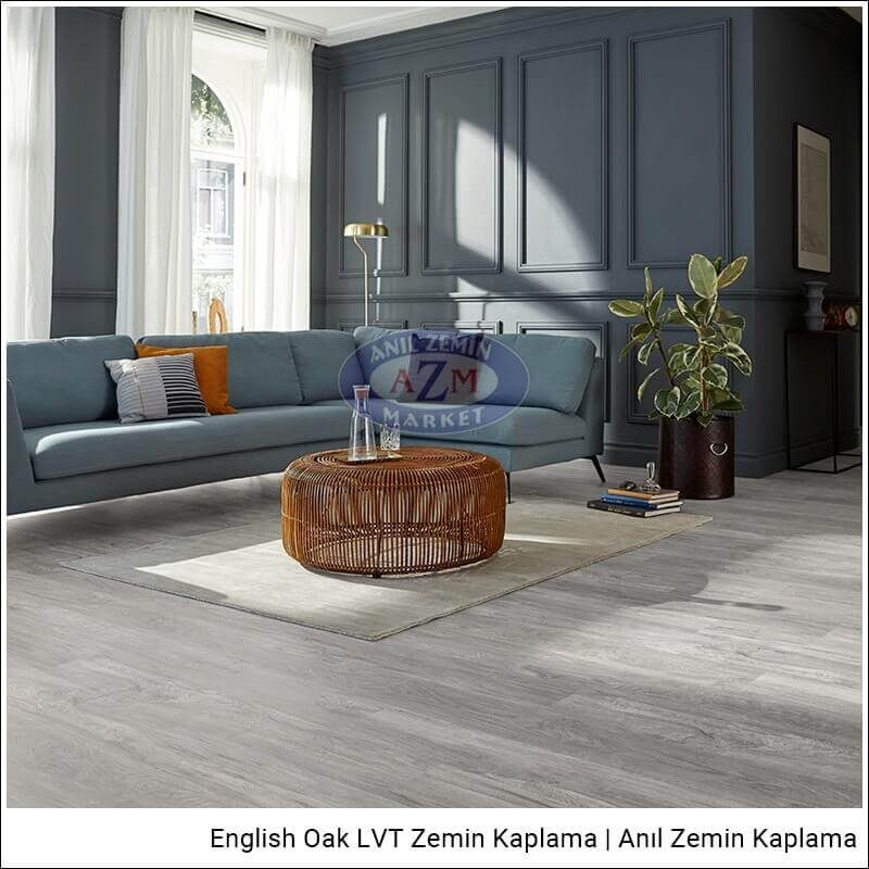 Mflor LVT zemin kaplama uygulama English Oak Beaumont Oak